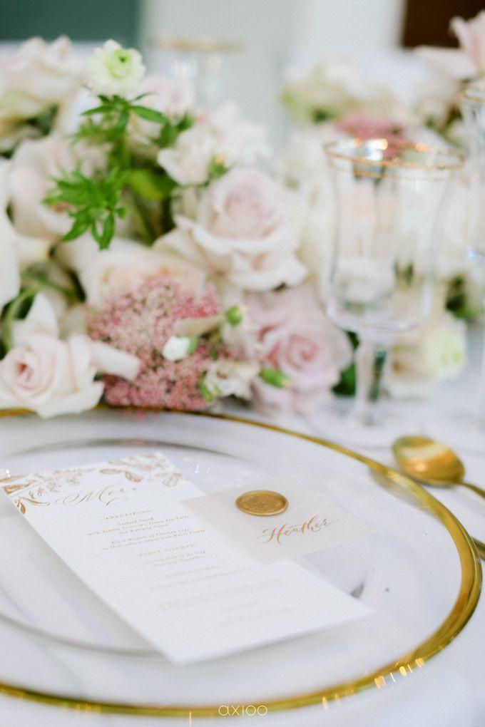 Elegant Peach Nude Wedding at Tirtha Glasshouse by Silverdust Decoration - 029