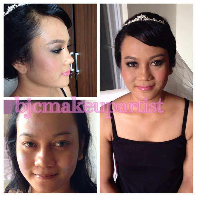 Before & After Prewedding Makeup by bjcmakeupartist - 005