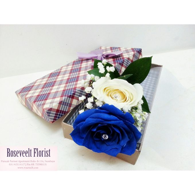 Flower in a Box Arrangement by Roseveelt Florist - 006