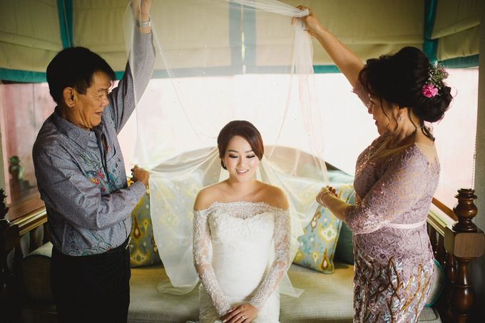 Wedding of Vina & Simon by Hilton Bali Resort - 001