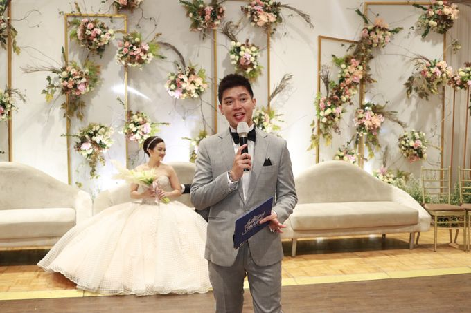 MC Intimate Wedding Glass House Ritz Carlton Pacific Place  - Anthony Stevven by Anthony Stevven - 003