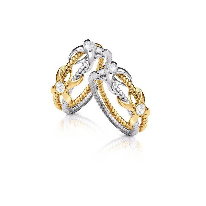 Wedding Ring Love Knot Series By Sebastian Gunawan By Frank Co