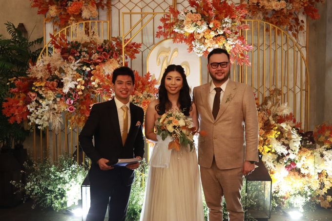 MC Wedding Intimate at Blue Jasmine Jakarta - Anthony Stevven by Anthony Stevven - 022