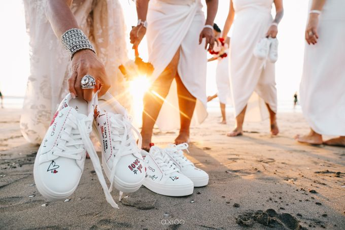 Modern Playful Wedding in Seminyak Bali by Hotel Indigo Bali Seminyak Beach - 018