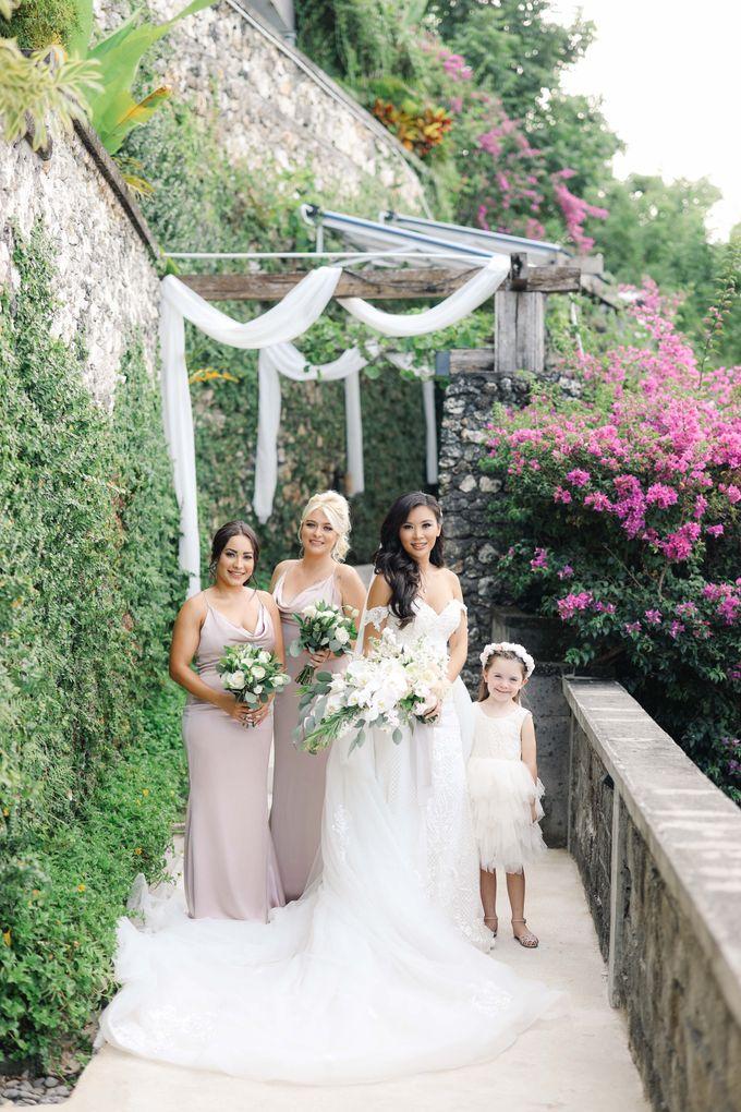 Bryce & Bonnie Wedding by KAMAYA BALI - 002