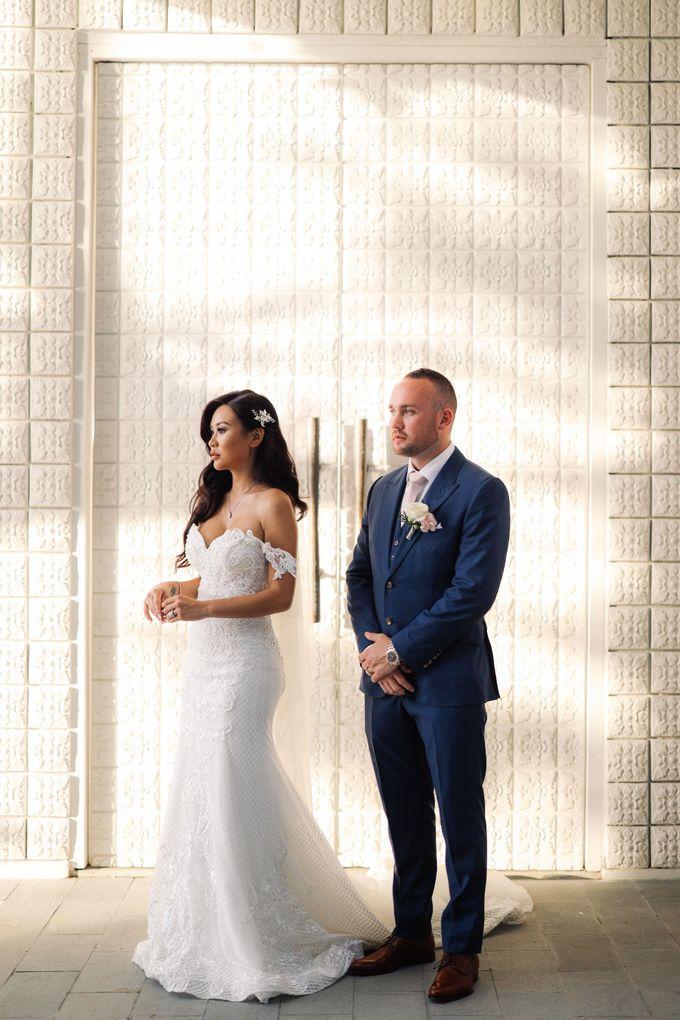 Bryce & Bonnie Wedding by KAMAYA BALI - 003