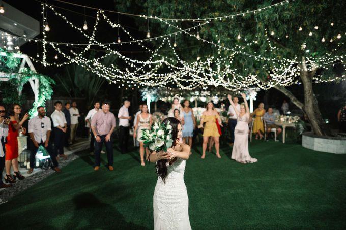 Bryce & Bonnie Wedding by KAMAYA BALI - 005