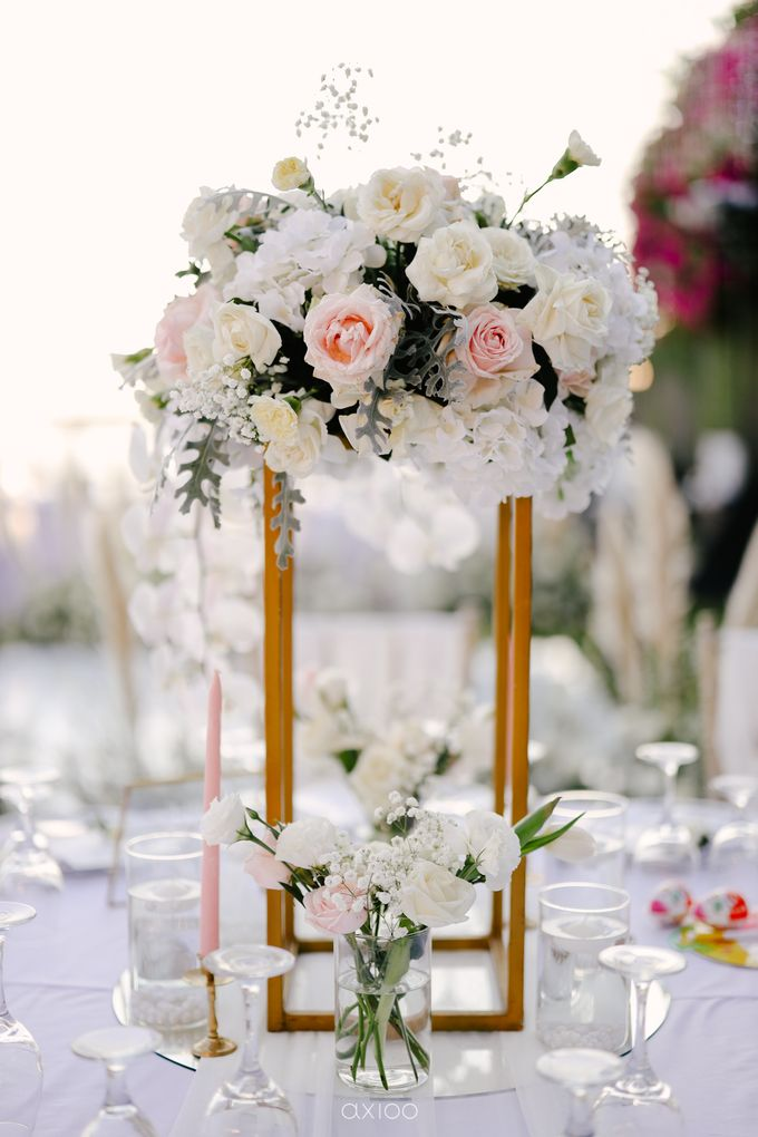 Wedding Karen & Ken by Bali Izatta Wedding Planner & Wedding Florist Decorator - 012