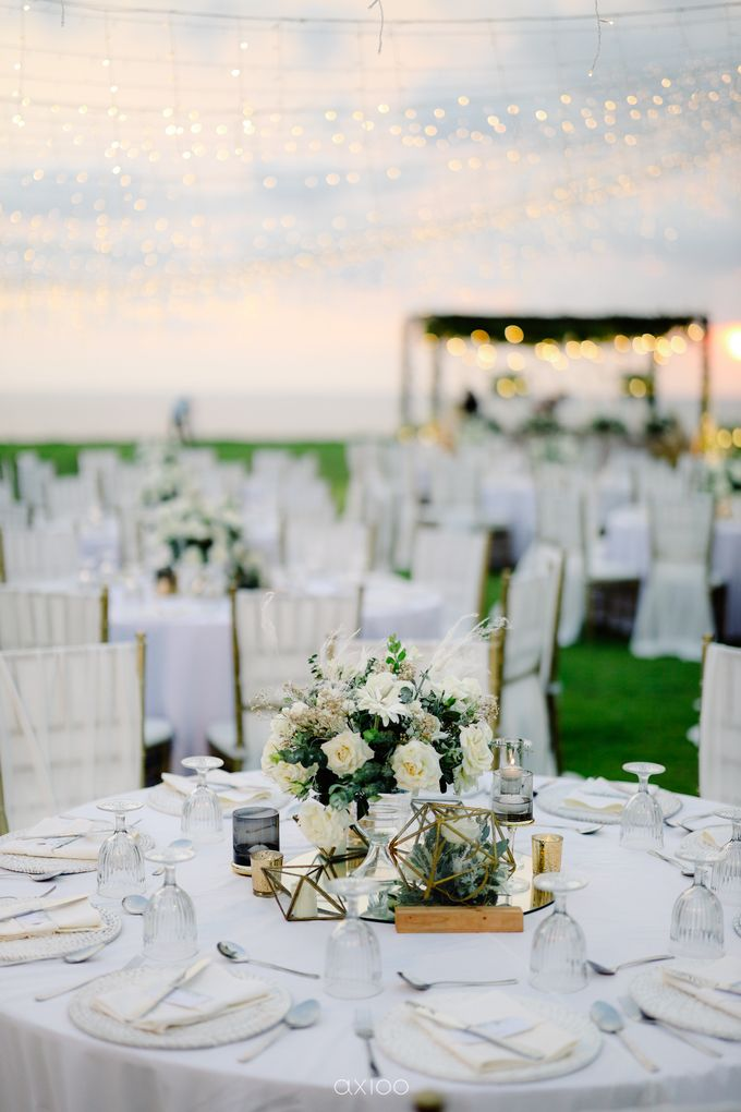 Playful Elegant Beach-front Wedding in Bali by Silverdust Decoration - 021