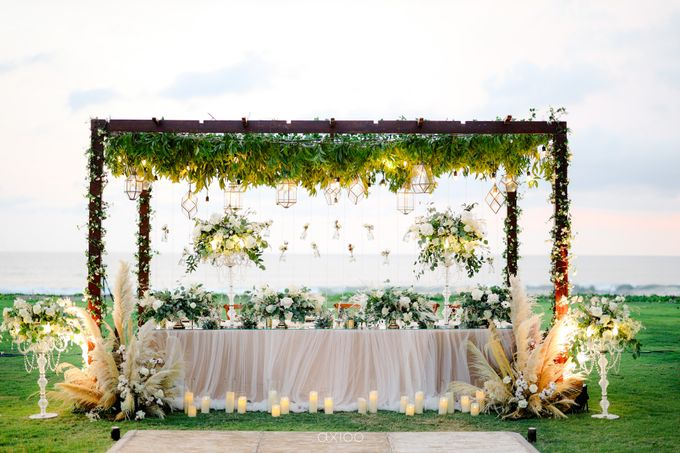 Playful Elegant Beach-front Wedding in Bali by Silverdust Decoration - 023