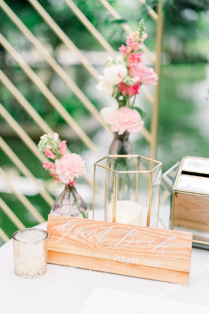 Julia & Liam Modern Sweet Wedding by Silverdust Decoration - 013