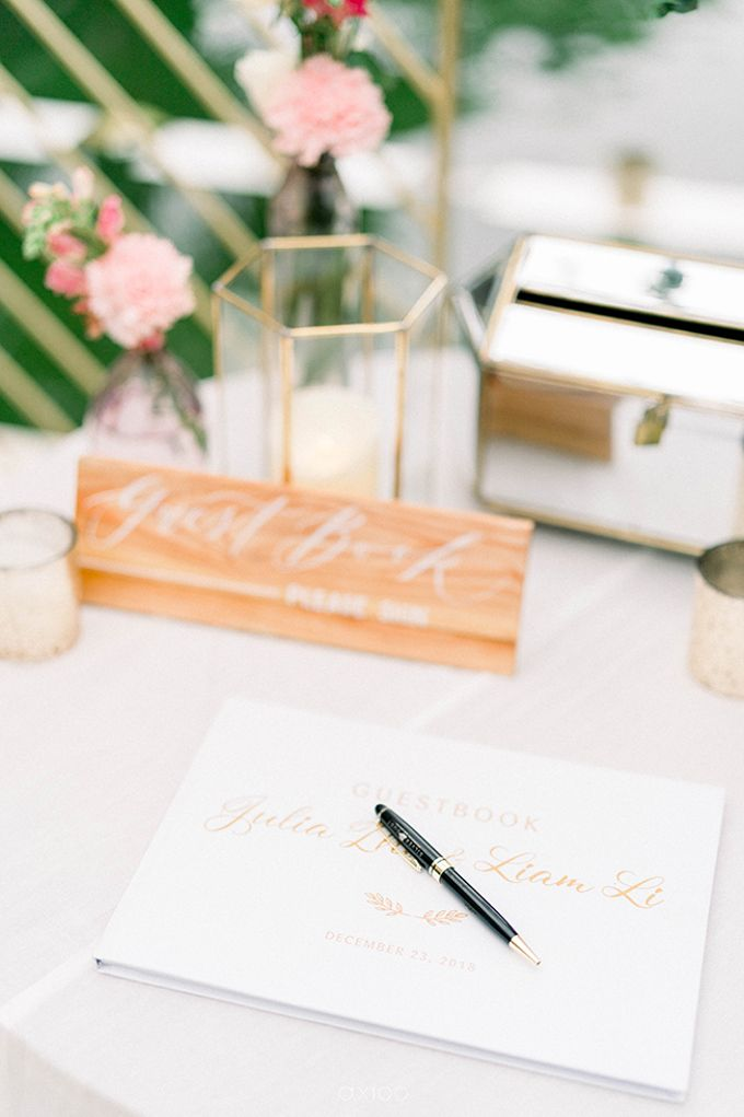 Julia & Liam Modern Sweet Wedding by Silverdust Decoration - 015