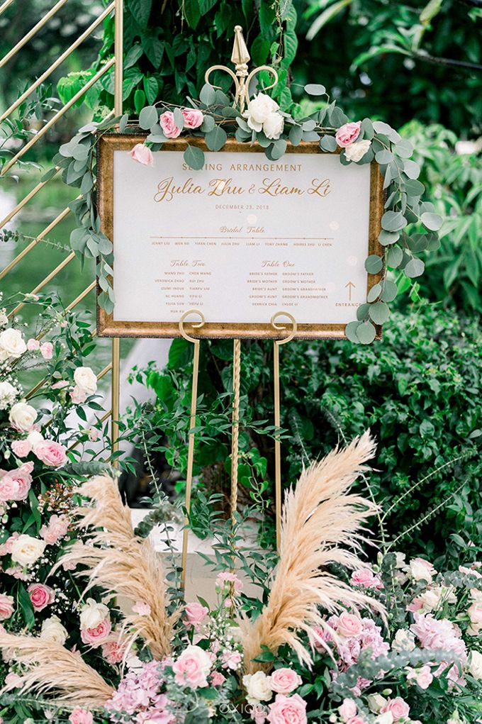 Julia & Liam Modern Sweet Wedding by Silverdust Decoration - 016