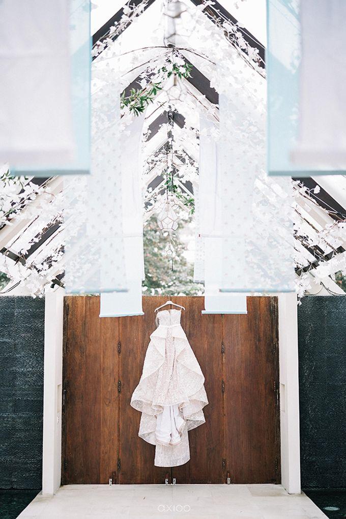 Villa Phalosa - Serene Dusty Blue Wedding by Flora Botanica Designs - 001