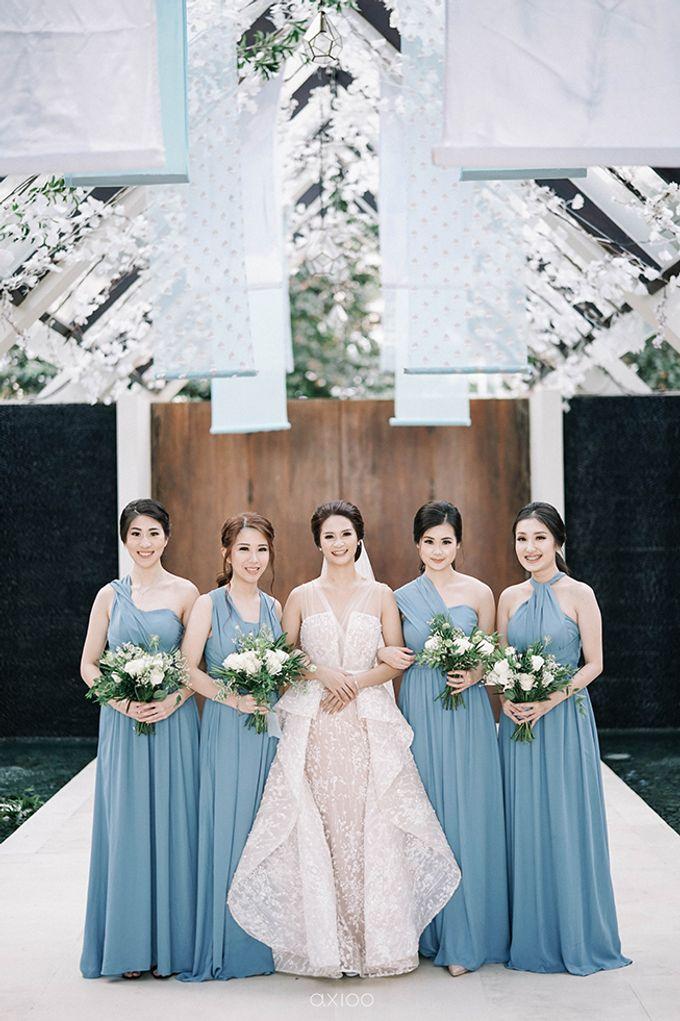 Villa Phalosa - Serene Dusty Blue Wedding by Flora Botanica Designs - 002