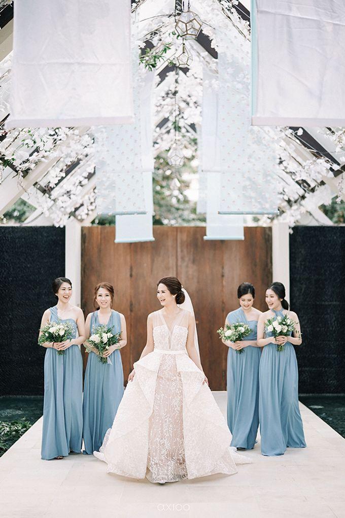 Villa Phalosa - Serene Dusty Blue Wedding by Flora Botanica Designs - 003