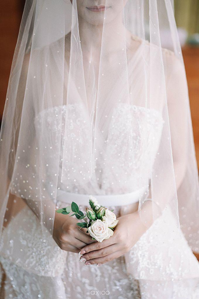 Villa Phalosa - Serene Dusty Blue Wedding by Flora Botanica Designs - 004