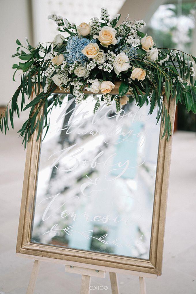 Villa Phalosa - Serene Dusty Blue Wedding by Flora Botanica Designs - 005
