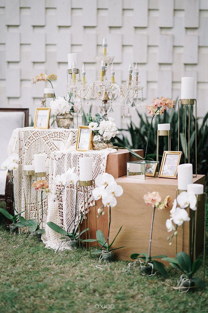 Villa Phalosa - Serene Dusty Blue Wedding by Flora Botanica Designs - 007
