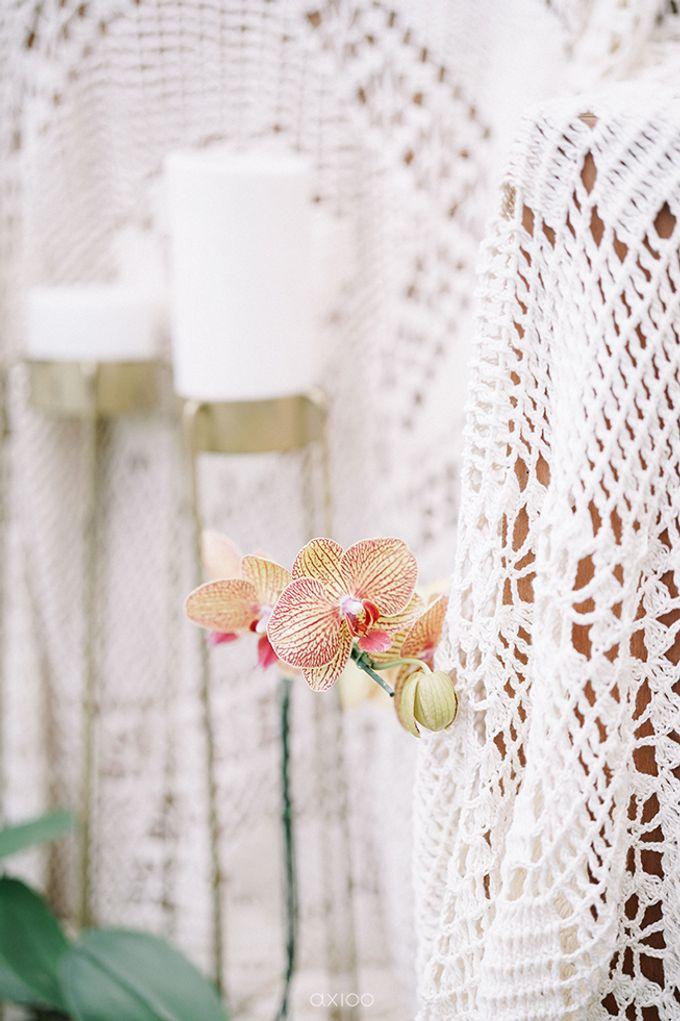 Villa Phalosa - Serene Dusty Blue Wedding by Flora Botanica Designs - 009