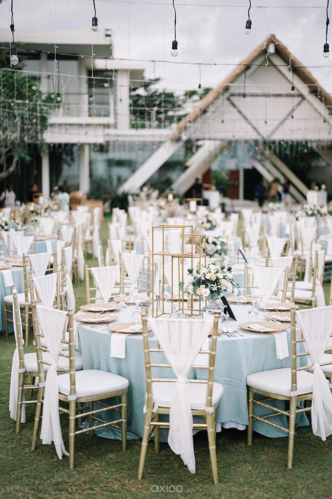 Villa Phalosa - Serene Dusty Blue Wedding by Flora Botanica Designs - 018