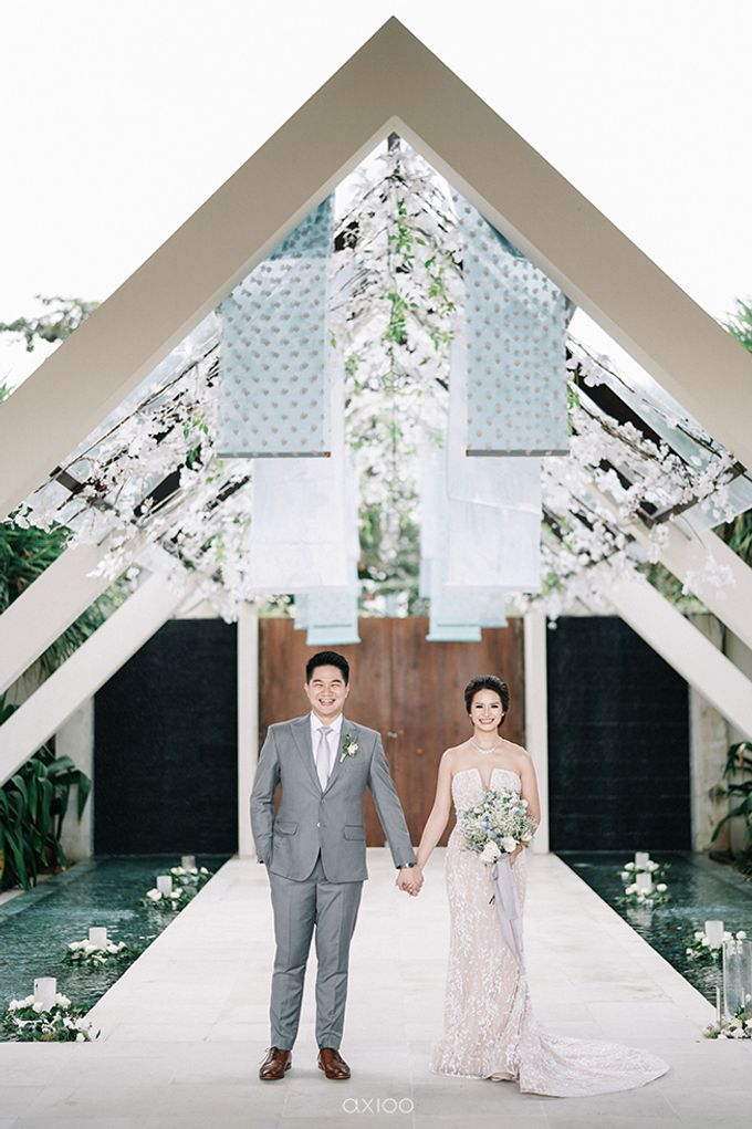 Villa Phalosa - Serene Dusty Blue Wedding by Flora Botanica Designs - 020