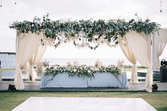 Villa Phalosa - Serene Dusty Blue Wedding by Flora Botanica Designs - 021