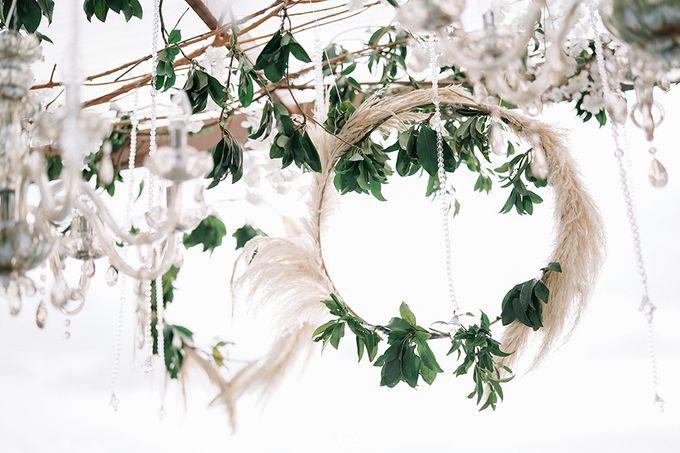Villa Phalosa - Serene Dusty Blue Wedding by Flora Botanica Designs - 026