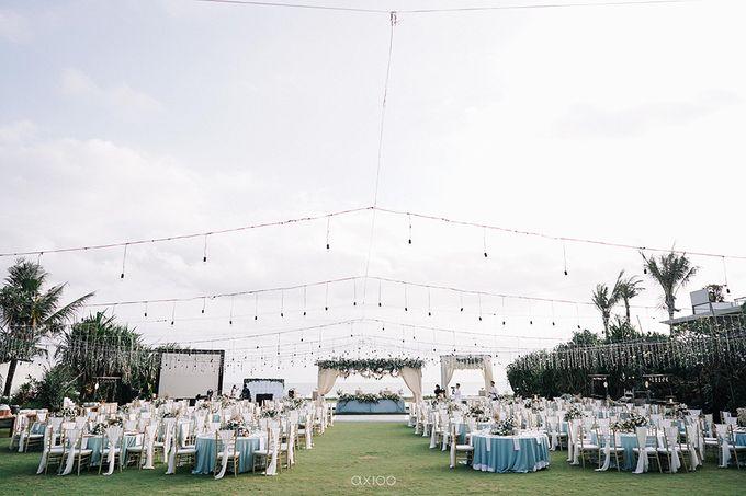 Villa Phalosa - Serene Dusty Blue Wedding by Flora Botanica Designs - 027