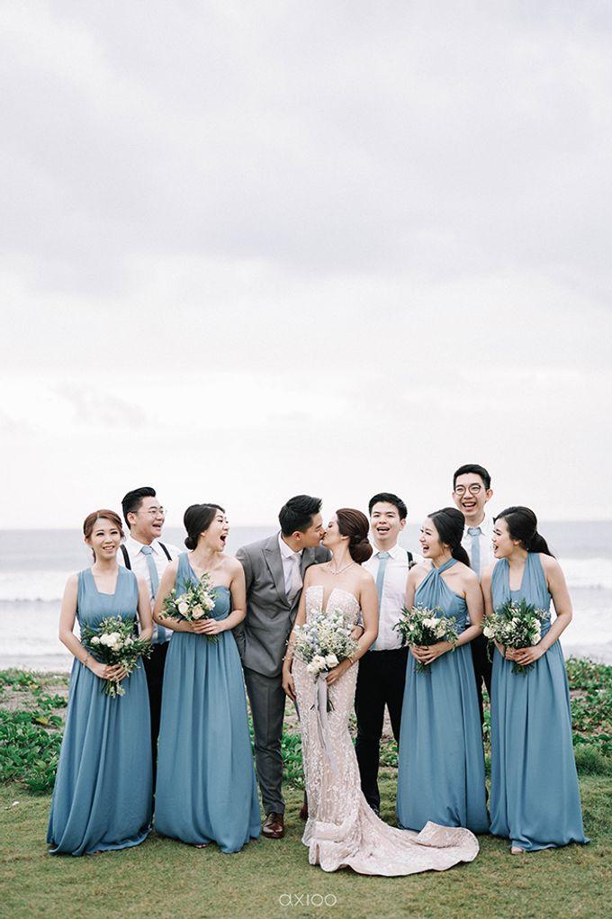 Villa Phalosa - Serene Dusty Blue Wedding by Flora Botanica Designs - 033