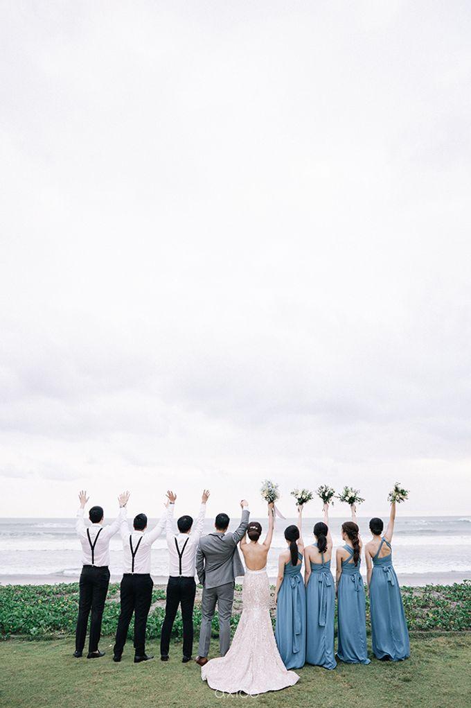 Villa Phalosa - Serene Dusty Blue Wedding by Flora Botanica Designs - 035