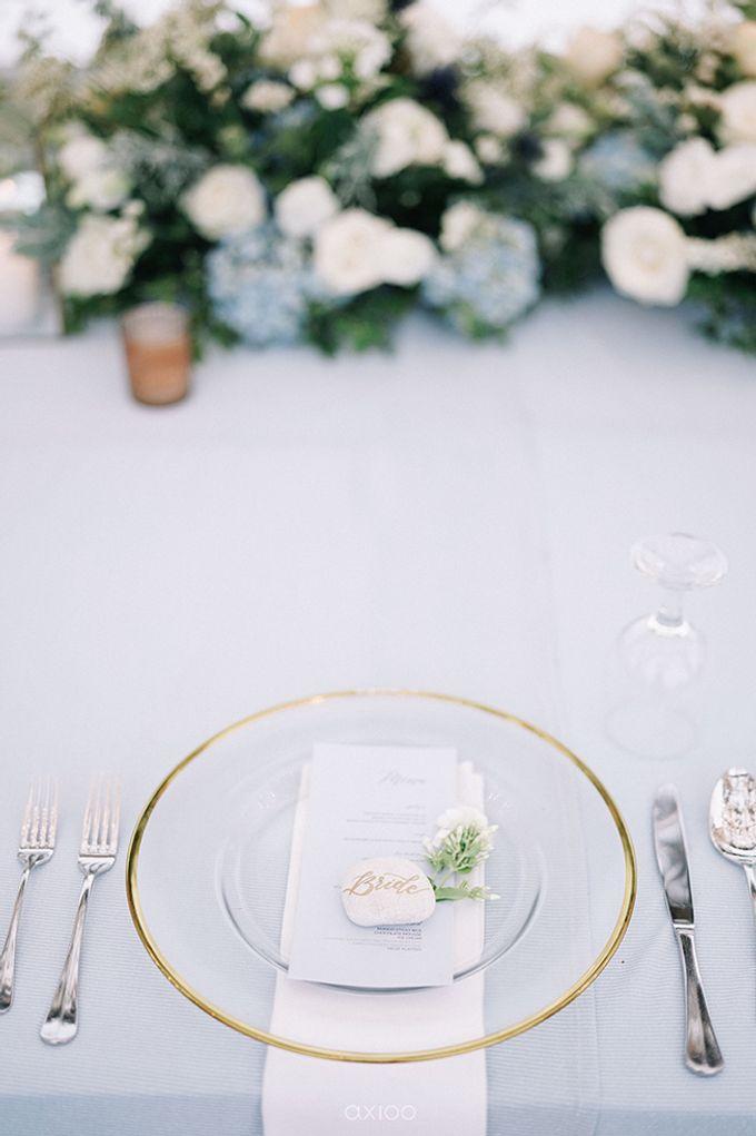 Villa Phalosa - Serene Dusty Blue Wedding by Flora Botanica Designs - 036