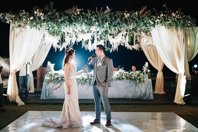 Villa Phalosa - Serene Dusty Blue Wedding by Flora Botanica Designs - 038