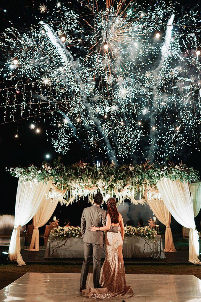 Villa Phalosa - Serene Dusty Blue Wedding by Flora Botanica Designs - 040