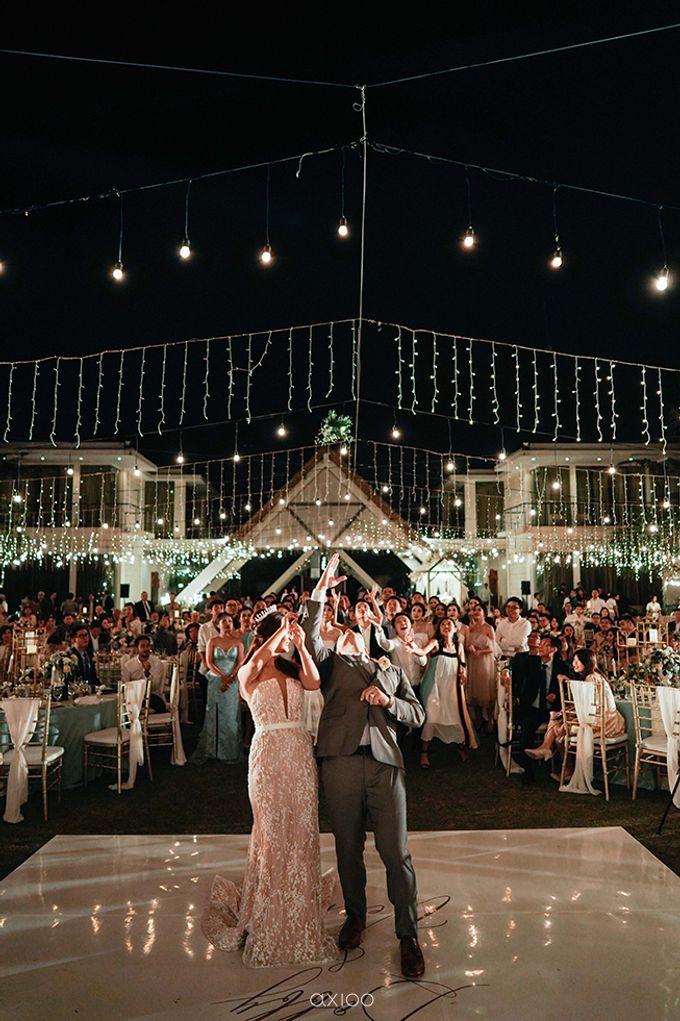 Villa Phalosa - Serene Dusty Blue Wedding by Flora Botanica Designs - 041