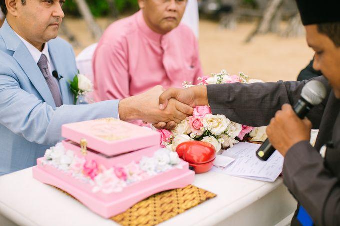 WEDDING OF ERINA AND RAHEEL MALIK by Courtyard by Marriott Bali Nusa Dua - 003