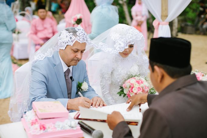 WEDDING OF ERINA AND RAHEEL MALIK by Courtyard by Marriott Bali Nusa Dua - 001