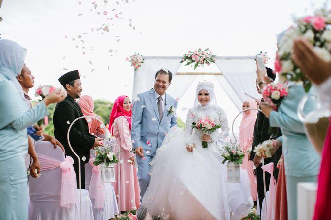 WEDDING OF ERINA AND RAHEEL MALIK by Courtyard by Marriott Bali Nusa Dua - 013