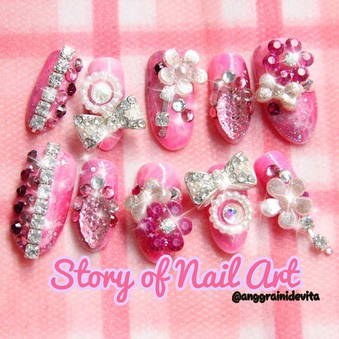Fake Nails by Story of Nailart - 026