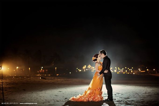 Wen Wen & Gisella Prewedding by Marble Pixel - 007