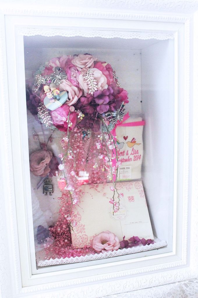 Frame Bouquet by Cup Of Love Design Studio - 009