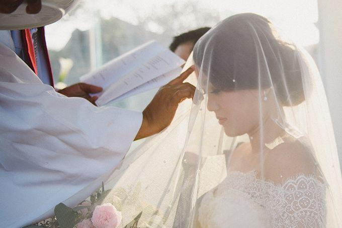 Wedding of Vina & Simon by Hilton Bali Resort - 002