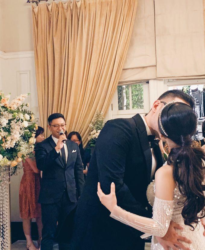 MC for the Wedding of Darryl & Elysia by Lotus Design - 001