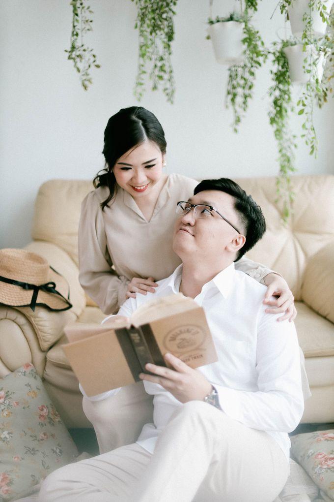 Prewedding Photoshoot of Felik & Shella by Favor Brides - 006