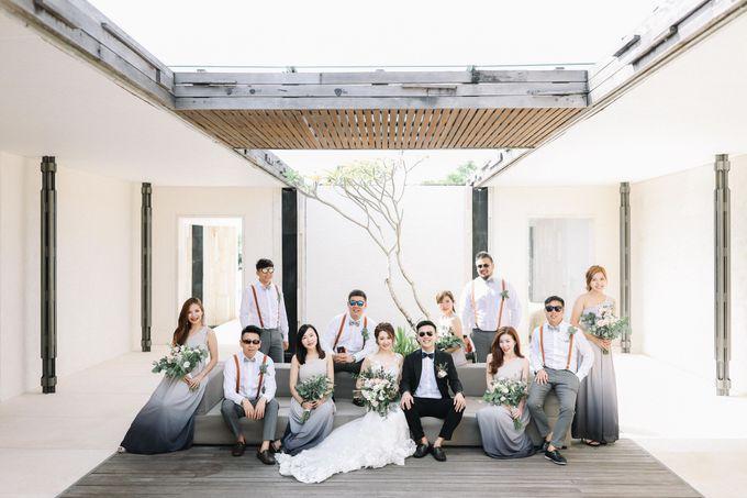 Intimate Natural Greenery Wedding at Alila Uluwatu Villa by Silverdust Decoration - 012