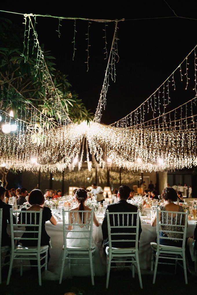 Intimate Natural Greenery Wedding at Alila Uluwatu Villa by Silverdust Decoration - 028