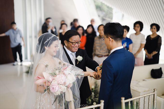 The Wedding of Asoen Wenny by Magnifica Organizer - 012