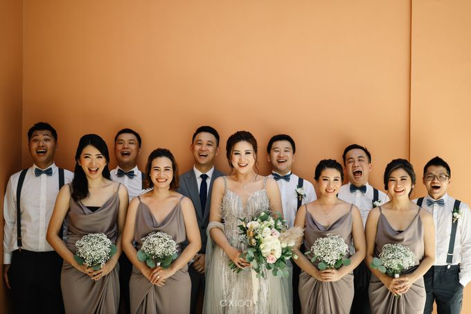Kendrick & Angel Wedding Celebration in Bali by Lis Make Up - 014
