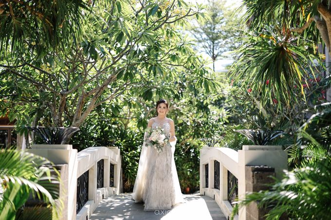 Kendrick & Angel Wedding Celebration in Bali by Lis Make Up - 010