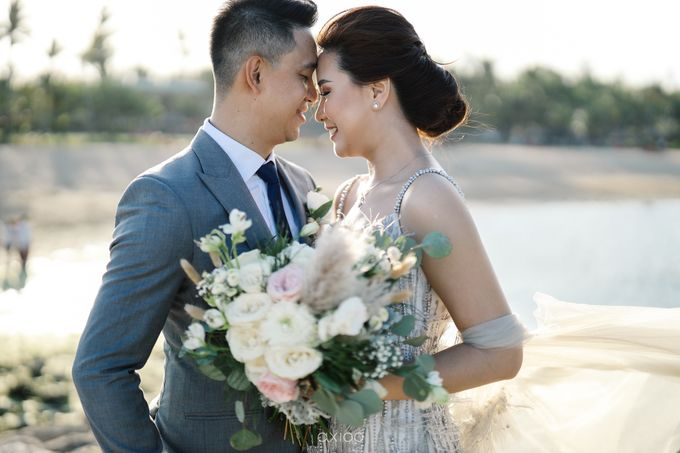 Kendrick & Angel Wedding Celebration in Bali by Lis Make Up - 016